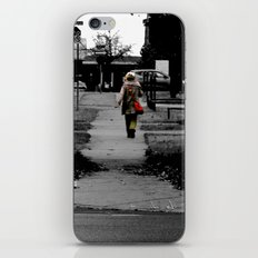 Woman Walking iPhone & iPod Skin