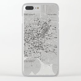The National System of Interstate and Defense Highways, Fleek Clear iPhone Case