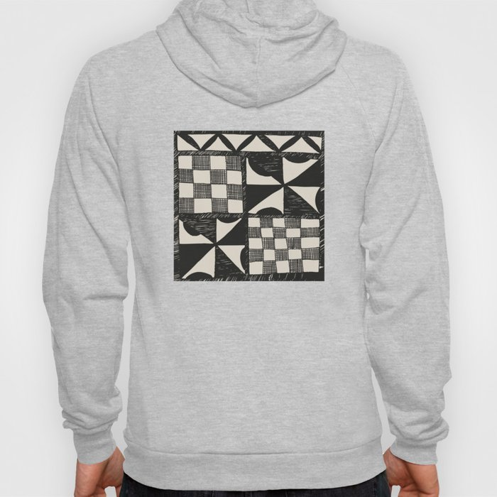 Tapa Cloth | Pacifica Patterns | Tribal Art Hoody