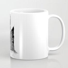 Jeune femme au chien Coffee Mug