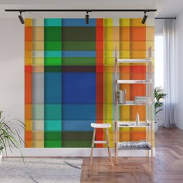 rectangle layers Wall Mural
