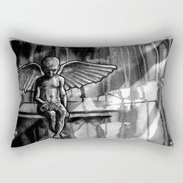 ANGEL OF CUPS - black 8 Rectangular Pillow