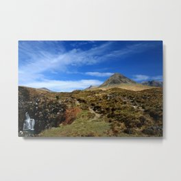 The Black mountains, Skye. Scotland Metal Print