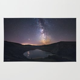 (RR 294) Milky Way above Lough Tay - Ire Rug