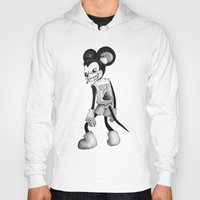 mickey Hoodies featuring Mickey by wa55up