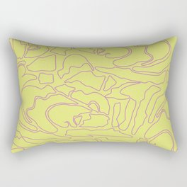 Pastel Pattern III Rectangular Pillow