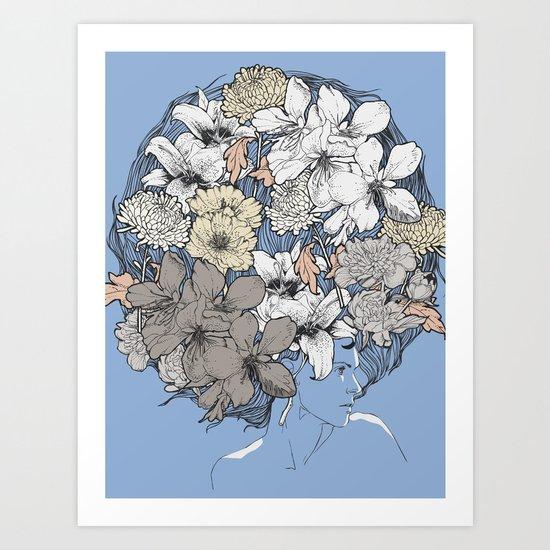 INSIGHT BLOOM Art Print