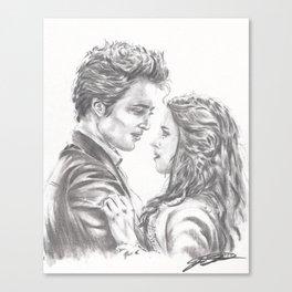 Twilight - Edward & Bella Canvas Print