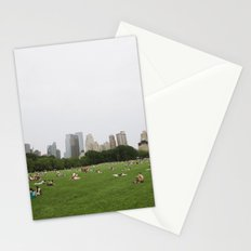 Sheep Meadow, Central Park, NYC Stationery Cards