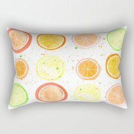 Citrus Fruit Rectangular Pillow