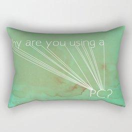 Mac Snob Rectangular Pillow