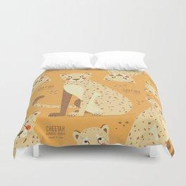 Cheetah, African Wildlife Duvet Cover