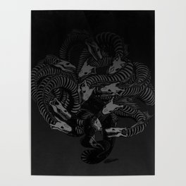 Lonely Hydra Poster