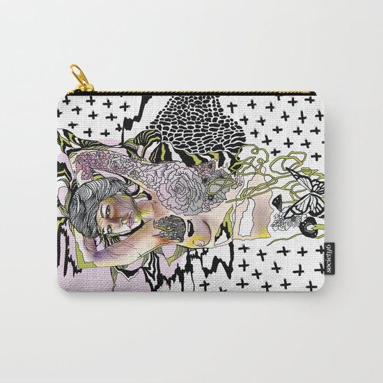 Sweetly Lavender Carry-All Pouch