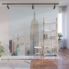 New York City Late Afternoon Wall Mural