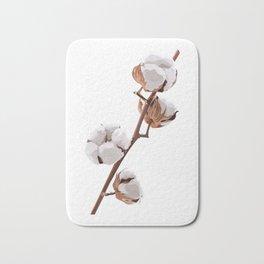 Scandinavian Cotton flower Bath Mat