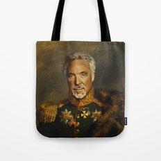 Sir Tom Jones - replaceface Tote Bag