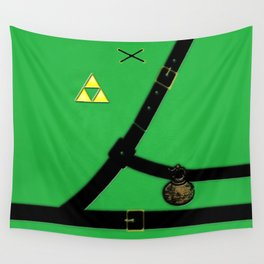 Zelda Suit Wall Tapestry