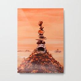 in memoriam. Mars_ Metal Print