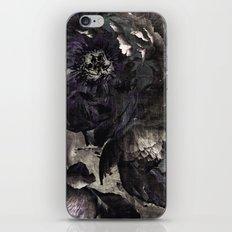 goth peony iPhone & iPod Skin