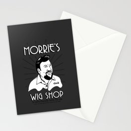 Goodfellas, Morrie's Wigs Shop Sign  Stationery Cards