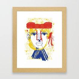 Torero Framed Art Print