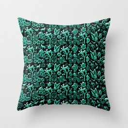 Joshua Tree Verde by CREYES Throw Pillow