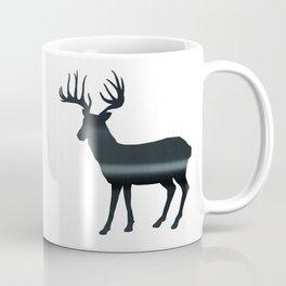 Deer print, Black & White Coffee Mug