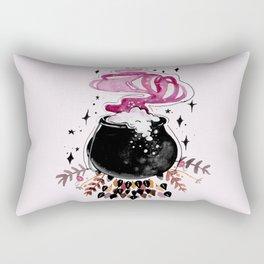 Fire Burn and Cauldron Bubble Rectangular Pillow