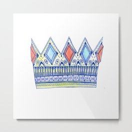 The Crown Metal Print