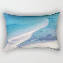 Northern beach Rectangular Pillow