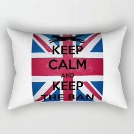 Keep Calm and Keep The Ban Rectangular Pillow