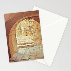 Jerusalem Courtyard Stationery Cards