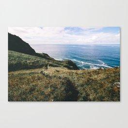 Seaside Bluffs    Oregon Coast Canvas Print