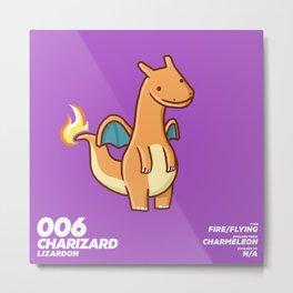 006 Charizard Metal Print