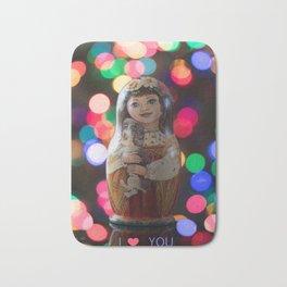 Valentines Day Matryoshka Nesting Doll Valentines Day Matryoshka Nesting Doll Bath Mat