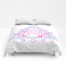 Witchy Cat Paw 02 Comforters