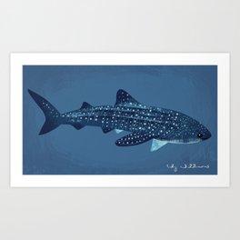 "FINconceivable Still ""Whale Shark"" Art Print"