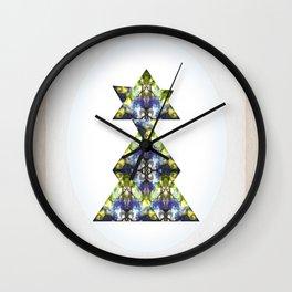 Symmetrical Triangle Creature Wall Clock