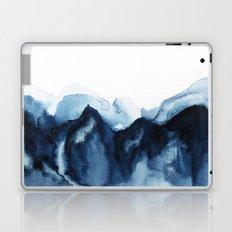 Abstract Indigo Mountains Laptop & iPad Skin