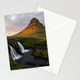 In Awe of Kirjufell Stationery Cards