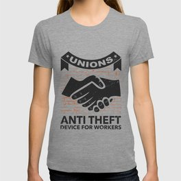 c180ced6f Labor Union of America Pro Union Worker Protest Light T-shirt