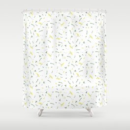 Wattle's Up Shower Curtain