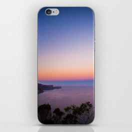Sunset views iPhone Skin