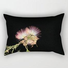 Blooming Midnight Flowers (part 2) Rectangular Pillow
