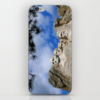 rushmore iPhone & iPod Skins featuring Mount Rushmore by Christiane W. Schulze Art and Photograph