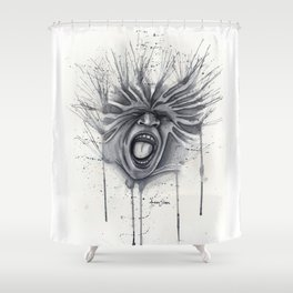 What lies within Shower Curtain