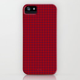 Rose Tartan iPhone Case