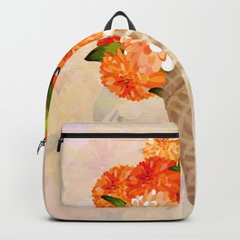 Flower Cone Backpack