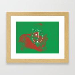 Bauhaus Bela Lugosi's Dead Album Cover Framed Art Print